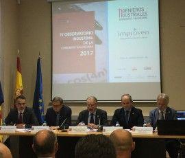 Sergio Gordillo, Socio Director de Improven, participa en la presentación del IV Observatorio Industrial de la CV