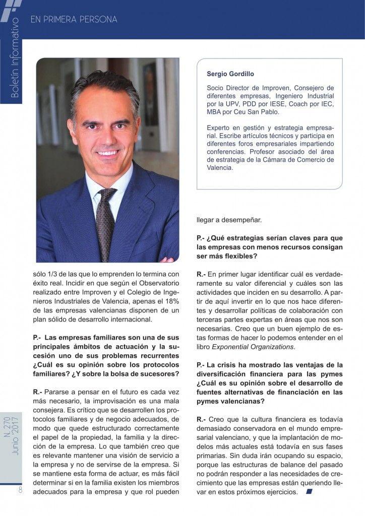 Entrevista a Sergio Gordillo, Socio Director de Improven