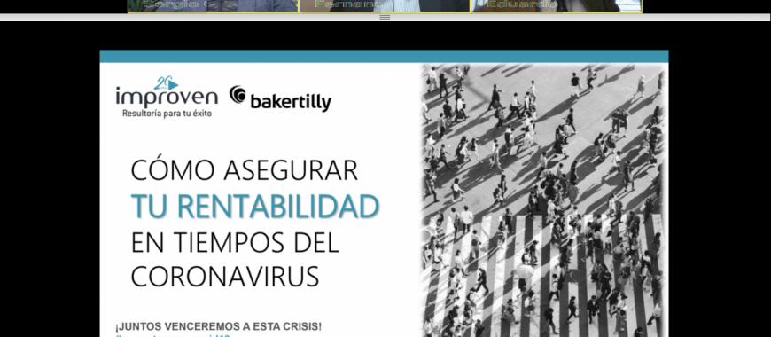 webinar improven baker tilly crisis covid19