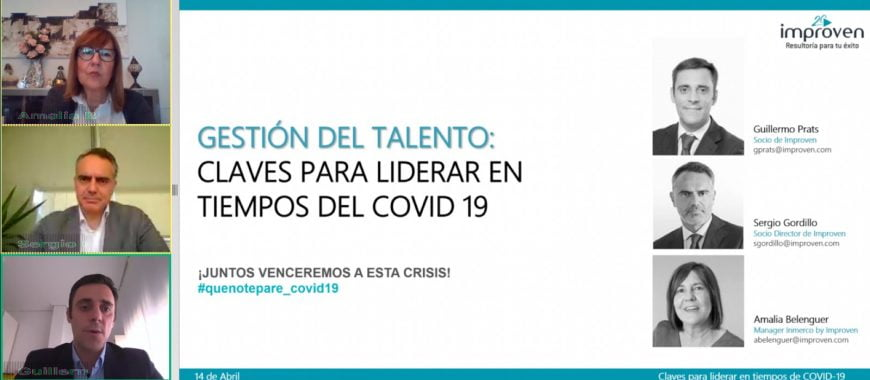 talento webinar covid19